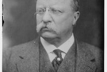 #26 Theodore Roosevelt & Alice Hathaway Lee R./ Edith Kermit Carow R. / by Sarah Ross