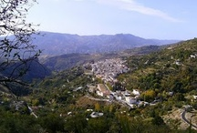Las Alpujarras, Andalucia, Spain / Covering the southern slopes of the Sierra Nevada Las Alpujarras covers a glorious landscape and unspoilt white villages.