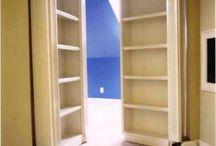 Doors into playroom