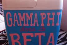 Gamma Phi!! / by Kasey Chester