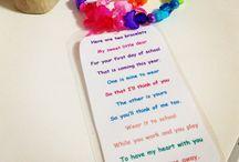 Starting School ideas / by Amber Wyrick