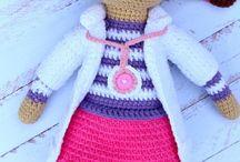 Mary crochet toys