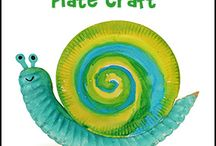 Snail Crafts and Learning Activities