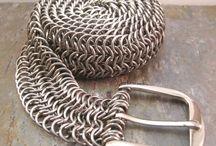 Gioielli di maglia metallica