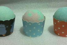My art work/Bath balls