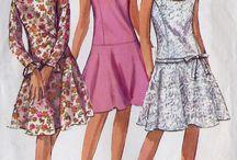 Clothing: drop waist dress