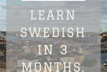 Learning Swedish - Take me to Sweden / You want to learn Swedish? This board links to the best resource available. #pratasvenska