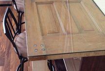 Tables et meubles vintage et antique ou originaux