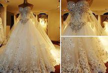 Bling Wedding Apparel / Bling Wedding Apparel with Crystals