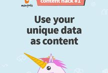 Content hacks / Content marketing and digital marketing tips