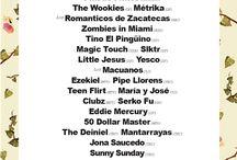 Festivales, Eventos, conciertos, DJs sets