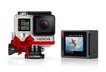 GoPro 4 / Captured Moments with GoPro 4: Features: 1080p60 and 720p120 video. 12MP photos up to 30 frames per second. built-in Wi-Fi and Bluetooth®. Protune™ for photos and video. Waterproof to 131' (40m).