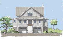 Sanctuary Cove Home Plan / Coastal Cottage Home Plan