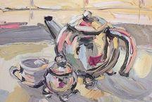 Kitchen Tea Arty Ideas