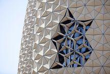 Architecture umbrellas/parasols