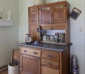 Hoosiers, Hutches and Old Kitchen Cupboards / by Cheryl Buckner