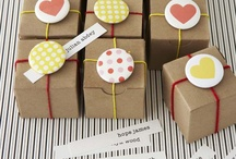 Present wrapping / How to wrap up your presents pretty and cute.