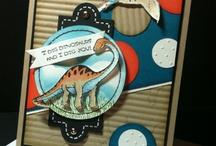 Cards - Dinosaurs / Dinoroar; No Bones About It