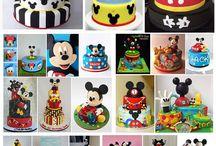 bolos de Mickey