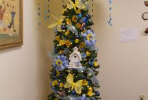monthly themed christmas tree