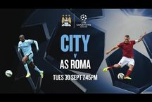 {FREE} Watch Manchester City vs Roma Live Stream Online - UCL 2014