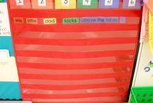 classroom set up: literacy centers