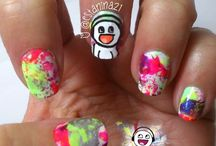 My nails ... Mis uñas / Mis uñas / Nails I did