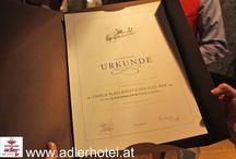 Feierliche Ehrung der treuesten Kunden / Die Treue der Gäste vom Schwarzen Adler in Nauders wird mit einer großen Feier belohnt.