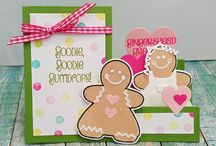 Cards made with Sizzix Dies by Stephanie Barnard
