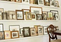 Home - Displays / Ways to displays art, photos, and collections / by Nicole Buxton
