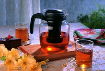 Elegant Glass Carafe / Unique designed glass carafes for tea, coffee & drinks.
