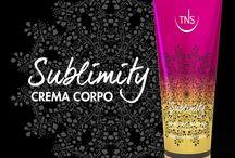 Sublimity / Arriva Sublimity, la prima routine sensoriale di bellezza firmata TNS. Tre nuovi prodotti dalle texture sorprendenti, emollienti e idratanti, tre preziosi alleati del vostro benessere per lasciarsi avvolgere da una morbida coccola.