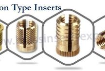 Brass Expansion Type Inserts