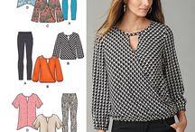 mønster dameklær