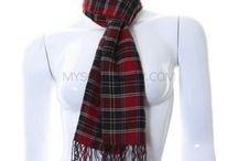 Mens Scarves / Mens scarves in an array of colours and designs