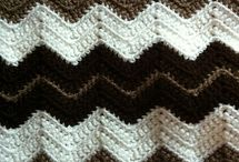 ripple brown blanket