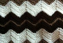 ripple brown blanket