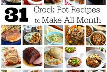 Crockpot Dinner Ideas / Looking for new ideas to serve your family for dinner to have ready after a long day?  Pin and share here!