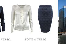 fashion decisions from POTIS & VERSO / there are few sets of fashion style from our brand, let us see