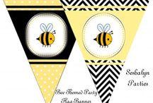 Library Display - Bee theme
