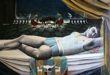 Adonis / Oil on canvas, Artdirected/painted by EDVARDA