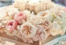 Centerpiece / Wedding - Orchid - Rose