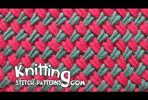 Two color Woven Plait stitch - YouTube