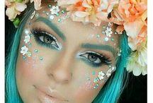 glitter and festival fun