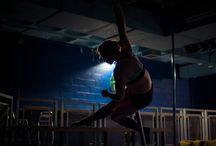 Stirling Pole and Aerial Fitness Classes / Come along to our high flying fitness suites. Venues in Grangemouth and Stirling. We are also available for public performance.