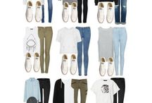 **ALL STARS** / What to wear with your converse sneakers.