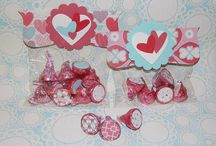 Crafty Treat Holders Made with Stampin' UP! Products / Gotta love Stampin' UP! products to help us with our crafty treat holders.