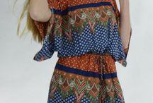 Aakaa tie front kimono Tunic/Dress