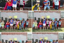 Superhero Party / For all those Super boys and girls out there.
