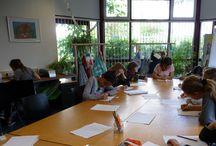 Talentenklas De Schoolschrijver / De Schoolschrijver Talentenklas (Foto's Chris van Houts)